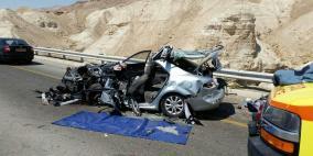 11 إصابة إحداها حرجة لطفل بحادث قرب البحر الميت