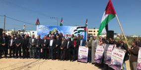 """غزة: انطلاق التحضيرات لمسيرة """"العودة الكبرى"""""""