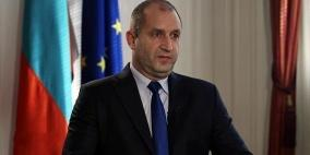 الرئيس البلغاري يصل فلسطين في زيارة تاريخية