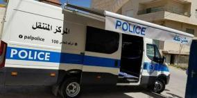 مركز متنقل للشرطة الفلسطينية في بيت لحم