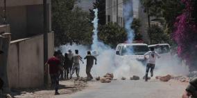إصابة 7 مواطنين في مواجهات كفر قدوم