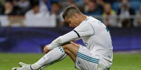 صدمة رونالدو بعد الفوز على مصر