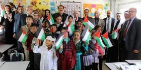 """افتتاح مدرستي """"التحدي 7 و8"""" مقابل مستوطنات بالخليل"""