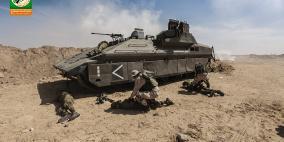 القسام ينشر صورا جديدة من المناورات الدفاعية