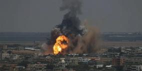 الاحتلال يقصف نقطة رصد للمقاومة شمال غزة