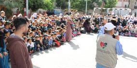جمعية عطاء فلسطين الخيرية تختتم مشروع التشجيع على القراءة