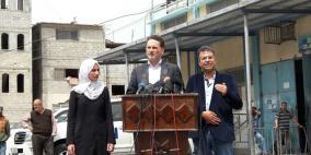 كرهينبول: الوضع الانساني في غزة خطير وغير مسبوق