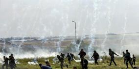 حصيلة الجمعة بغزة: 15 شهيدا وأكثر من 1416 إصابة
