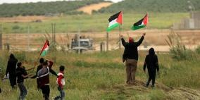إصابة 3 مواطنين برصاس الاحتلال على حدود غزة