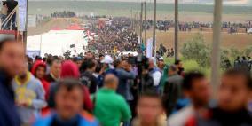 الهيئة العليا لمسيرة العودة تعلن استمرار التظاهر بغزة
