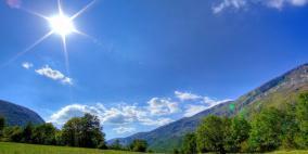 الطقس: أجواء صافية ومعتدلة
