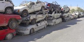 إتلاف 30 مركبة غير قانونية في الخليل