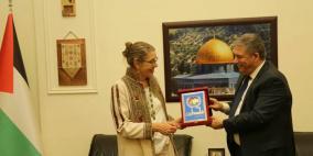 السفير دبور يلتقي المنسقة الخاصة للأمم المتحدة في لبنان