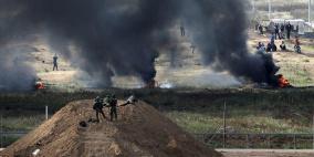 82 اصابة برصاص الاحتلال شرق قطاع غزة