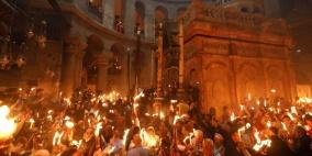 المسيحيون يحتفلون بسبت النور