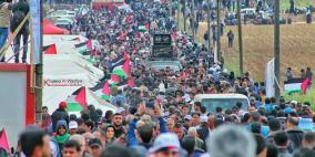 الاحتلال يلقي منشورات تحذيرية على غزة