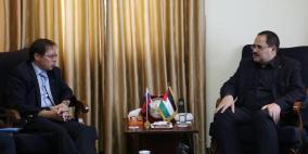 صيدم: الاتفاق على تطوير عمل اللجنة الفلسطينية الروسية لضمان نجاعة المنح
