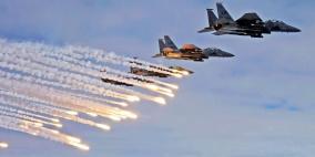 """طائرات حربية تنشر الرعب في """"تل أبيب"""""""