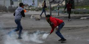 إصابات بالرصاص الحي والمطاطي في نابلس
