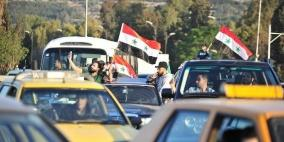 مظاهرات في دمشق تنديدا بالعدوان