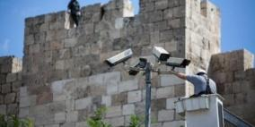 الاحتلال يُصادر كاميرات مراقبة شمال جنين