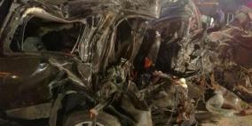 الكشف عن سبب حادث السير الذي أودى بحياة نائب أردني و6 من عائلته