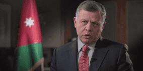 العاهل الاردني يدعو لتكثيف الجهود الدولية لتحريك عملية السلام