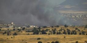 الاحتلال يقصف مدفعا سوريا ردا على سقوط قذيفة