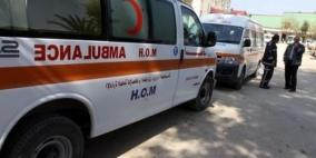 وفاة سيدة في حادث طرق شمال غزة