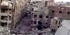 استشهاد 20 لاجئا في مخيم اليرموك