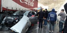10 اصابات في حادث سير شرق بيت لحم