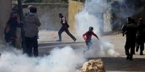 الاحتلال يقمع مسيرة كفر قدوم الأسبوعية