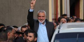إسماعيل هنية يتلقى رسالة من ايران