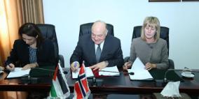 توقيع اتفاقية بين حكومتي فلسطين والنرويج لدعم الإحصاء الفلسطيني
