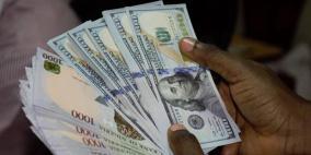 الدولار يواصل إرتفاعه مقابل الشيقل