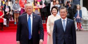 ترامب يستقبل نظيره الكوري الجنوبي في واشنطن