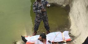 وفاة استاذ جامعي غرقا في برك سليمان ببيت لحم