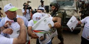 بمناسبة اليوم العالمي لحرية الصحافة.. الاحتلال يقمع مسيرة للصحفيين