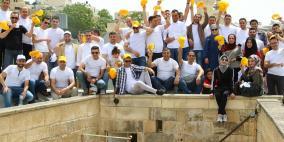 الاسلامي الفلسطيني ينفذ يوما تطوعيا في مدينة الخليل