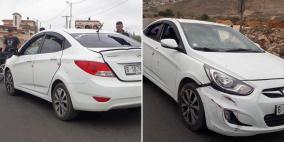 سرقة مركبة تقل أموالًا لبنك فلسطين بعد رش سائقها بالغاز