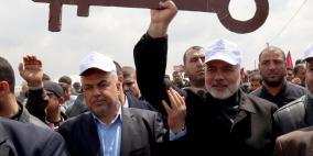 حماس: مسيرات العودة مستمرة حتى تحقيق أهدافها