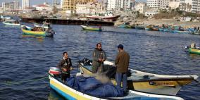 """توسيع مساحة الصيد في بحر غزة """"خدعة اسرائيلية"""""""