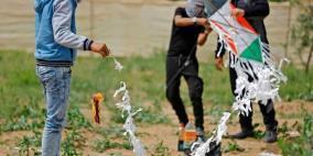 5 ألاف طائرة ورقية حارقة تستعد للإنطلاق من غزة غدا