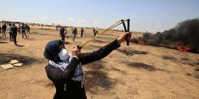 انقاذ حياة الجريحة التي أعلن عن استشهادها شرق غزة