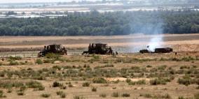 الاحتلال يتوغل في عدة محاور على حدود قطاع غزة