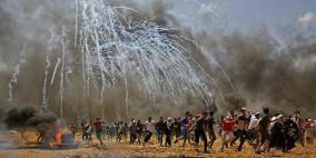 يوم دامٍ في غزة .. 59 شهيدا واكثر من 2770 اصابة