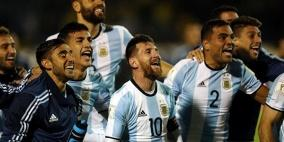 اعلان التشكيلة الأولية لمنتخب الأرجنتين