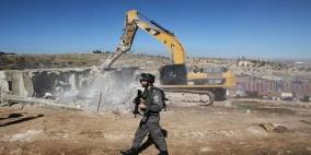 """أمر عسكري إسرائيلي يهدد الوجود الفلسطيني في مناطق """"ج"""""""