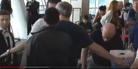 """فيديو: تفتيش """"مذل"""" للسفير الإسرائيلي في مطار اسطنبول"""