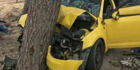 مصرع مواطن وإصابة 4 آخرين بحادث سير في العبيدية